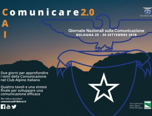 Comunicare 2.0, le giornate nazionali della comunicazione Cai