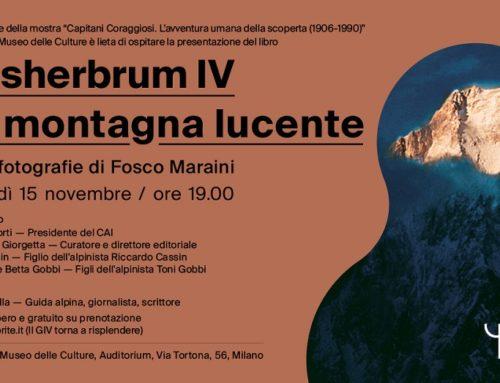 """""""Gasherbrum IV. La montagna lucente"""", il libro fotografico"""