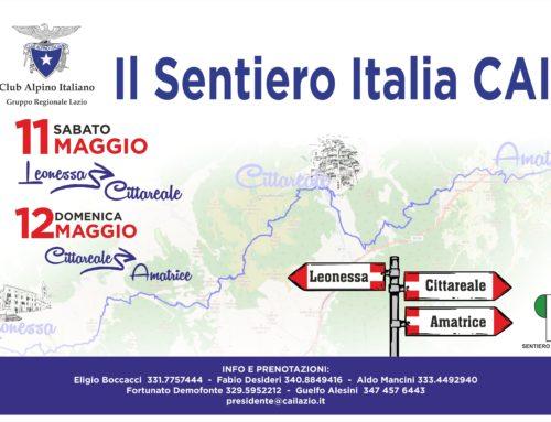 Sentiero Italia CAI, in cammino nelle zone terremotate del Lazio
