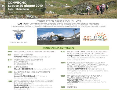 """Convegno """"Nuove forme di turismo nelle Alpi dei cambiamenti climatici"""""""