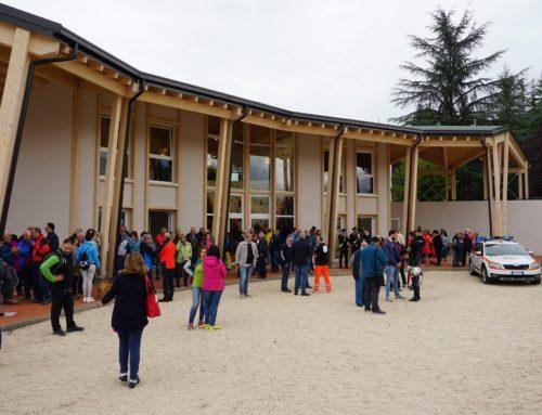 La Casa della Montagna di Amatrice pronta per l'inaugurazione