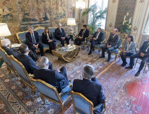 Al Quirinale il Presidente Sergio Mattarella ha incontrato una delegazione del Cai