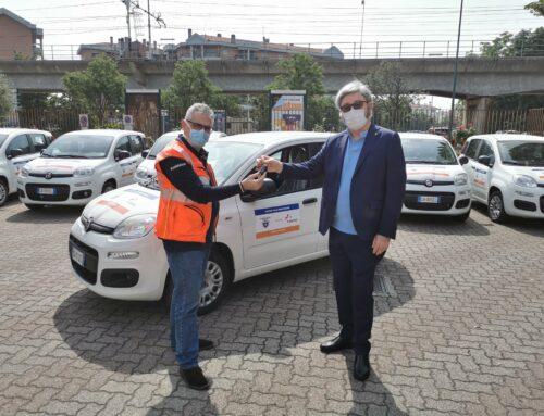 Il Cai consegna 53 auto ai volontari Anpas per l'assistenza domiciliare nelle aree montane