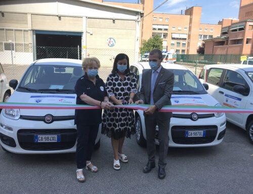 Donazione Cai ad Anpas: consegnate le quattro auto per l'assistenza domiciliare nelle aree montane dell'Emilia-Romagna
