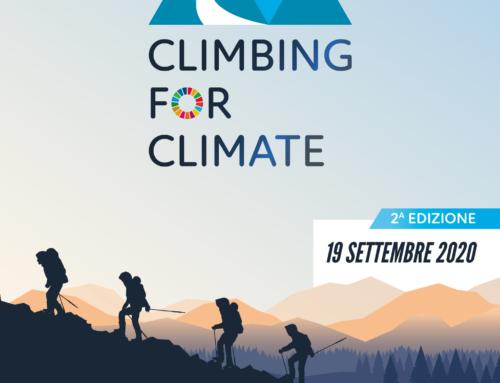La seconda edizione di Climbing for Climate