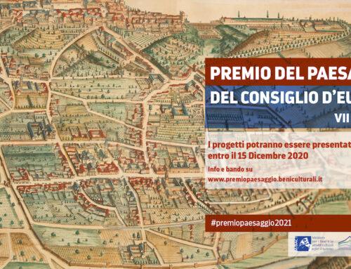Premio del Paesaggio del Consiglio d'Europa 2020-21: il bando